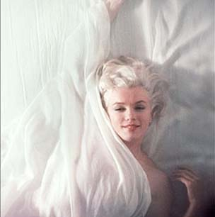 Marilyn Monroe - sensual and beautiful.