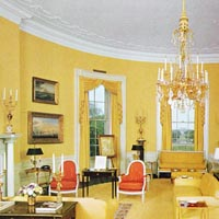 Yellow Oval Room - Whitehouse.
